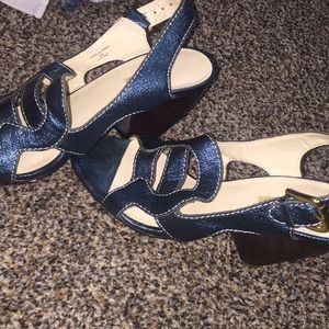 Original leather heels